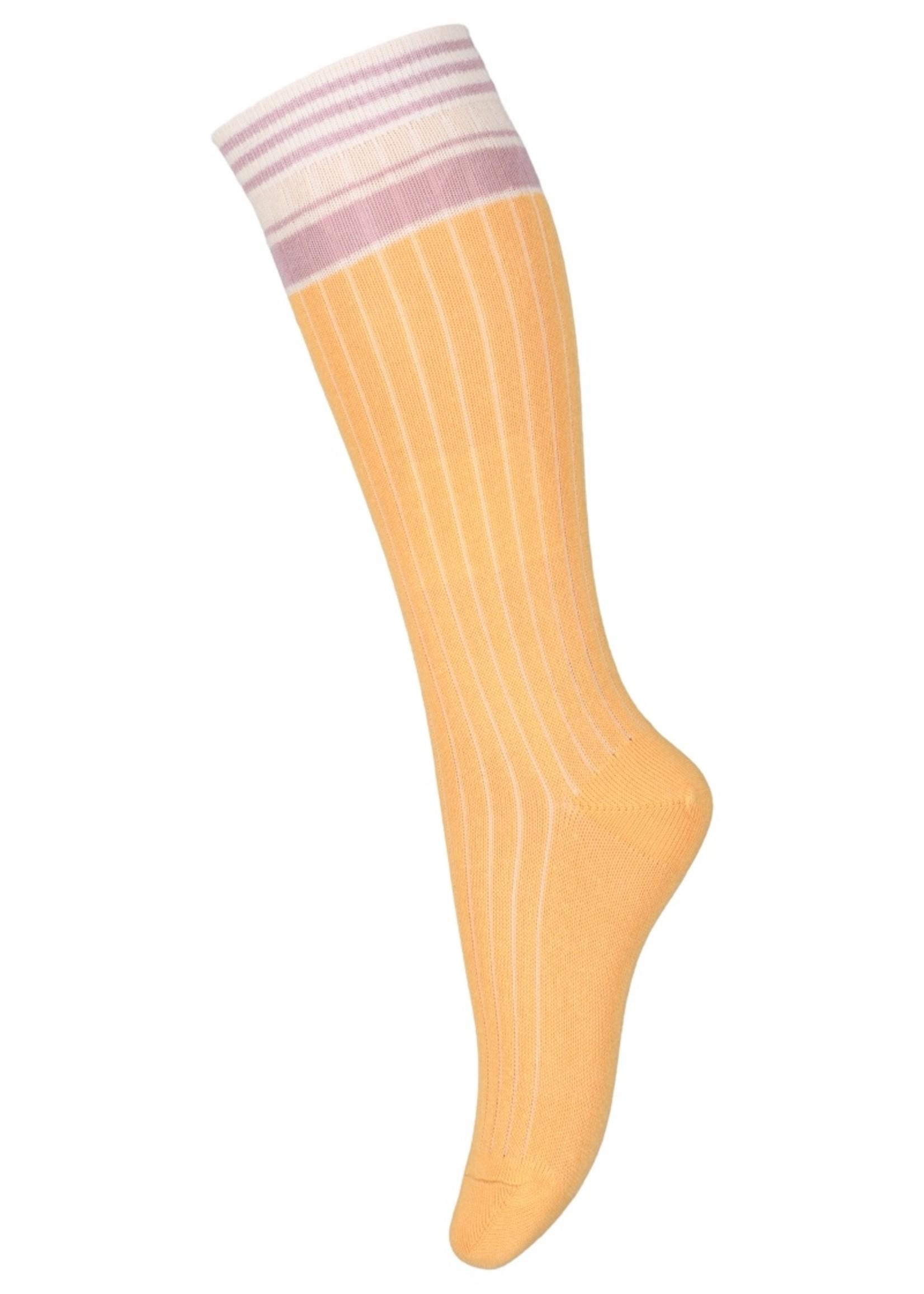 MP Denmark Bibi knee socks  Ochre