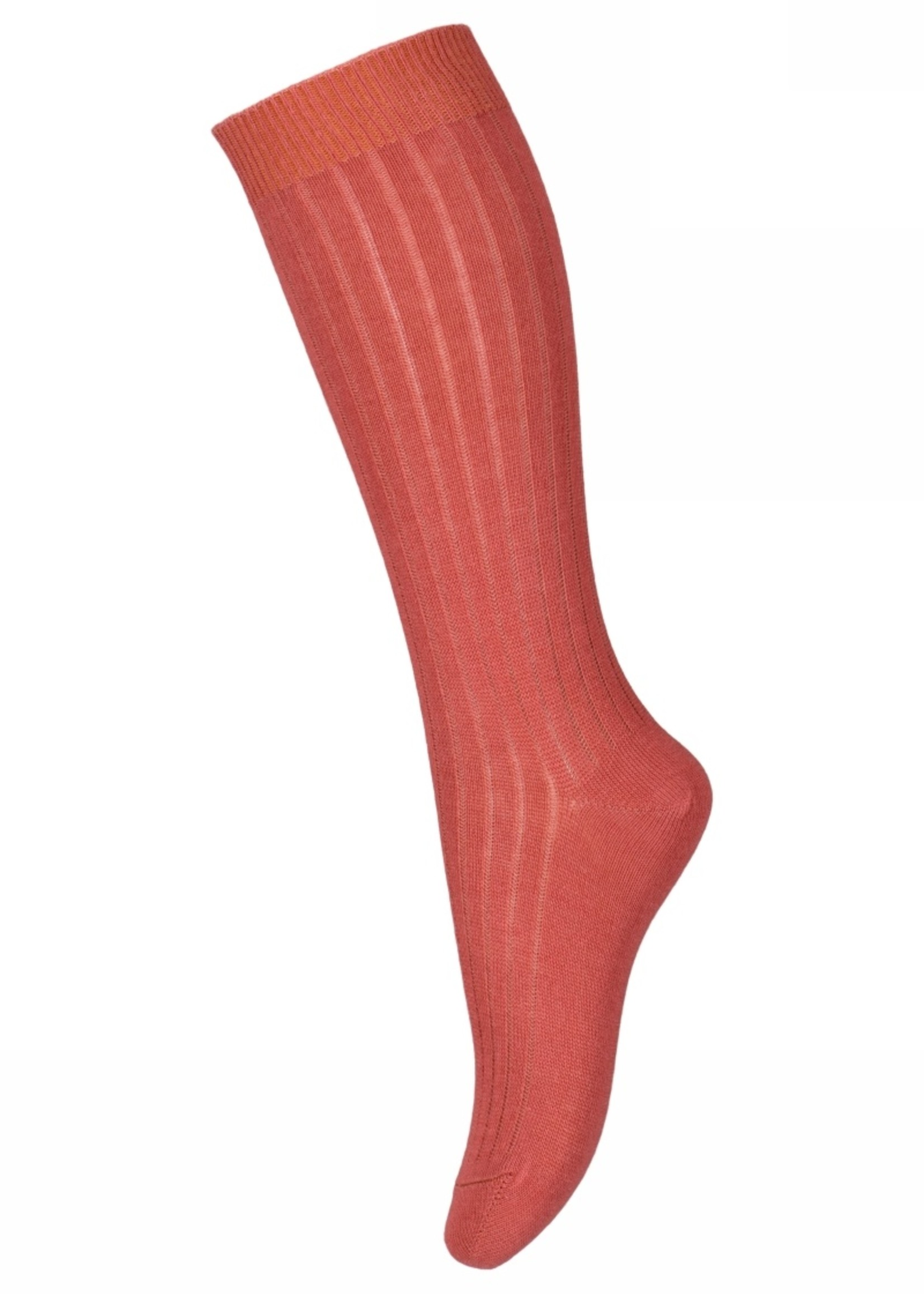 MP Denmark Digitalis knee socks - Marsala