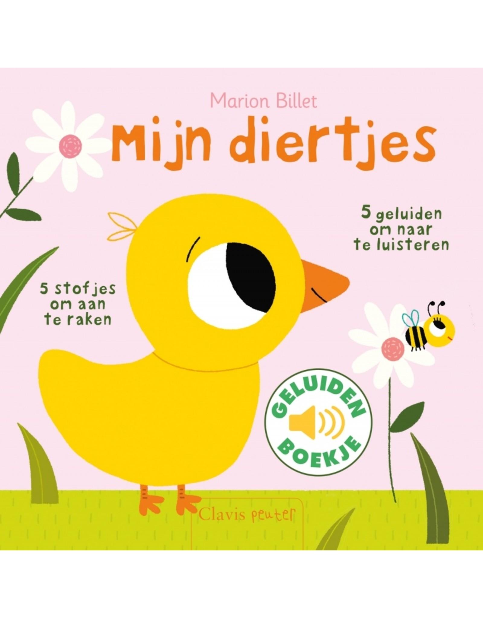 Boek - Mijn Diertjes (geluidenboekje en voelplekken)