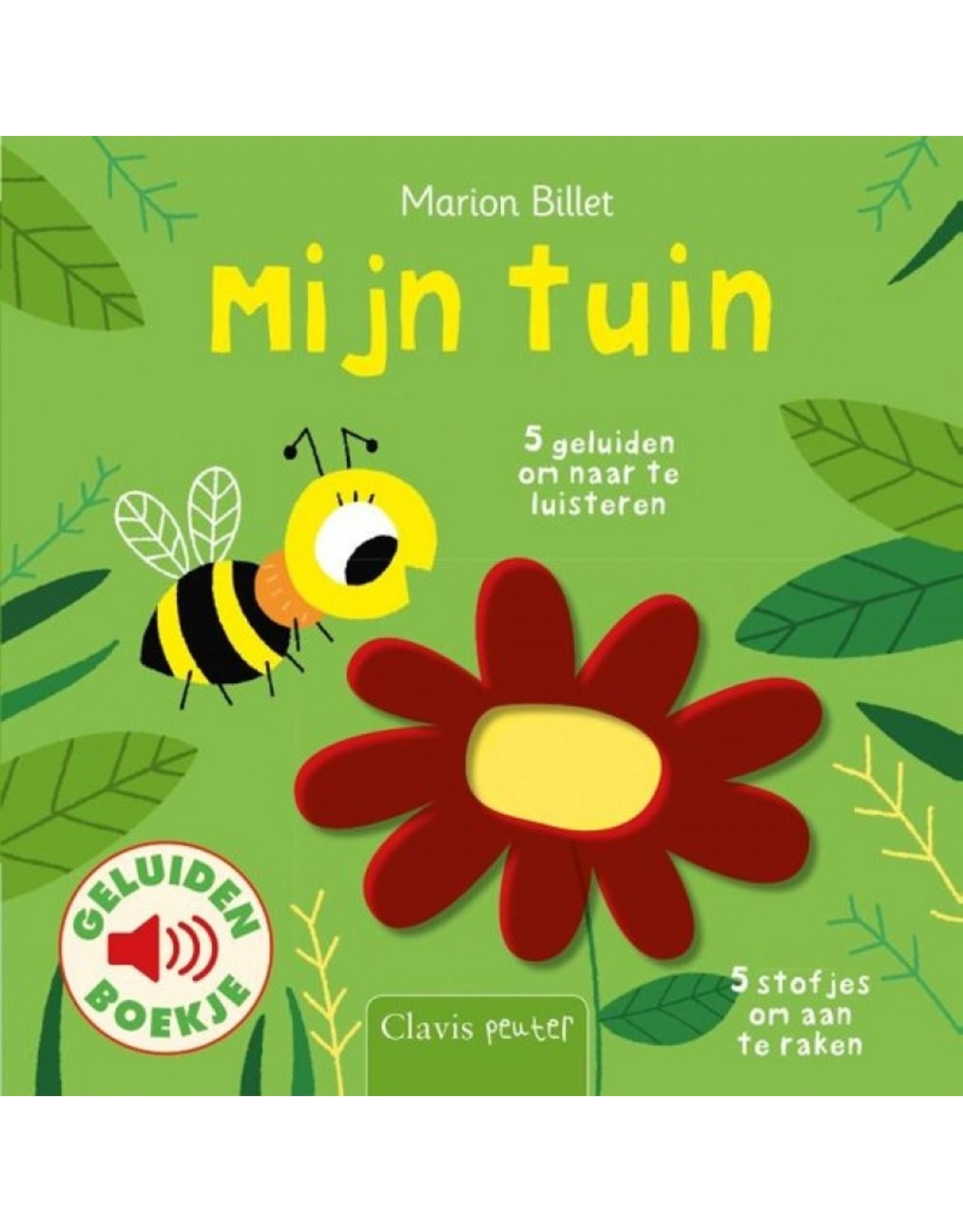 Boek - Mijn Tuin (geluidenboek met voelplekken)