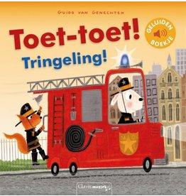 Boek - Toet-toet! Tringeling! (geluidenboekje)