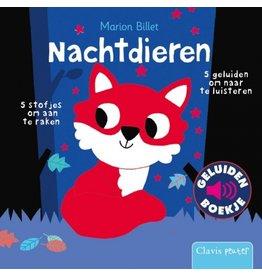 Boek - Nachtdieren (geluidenboekje)