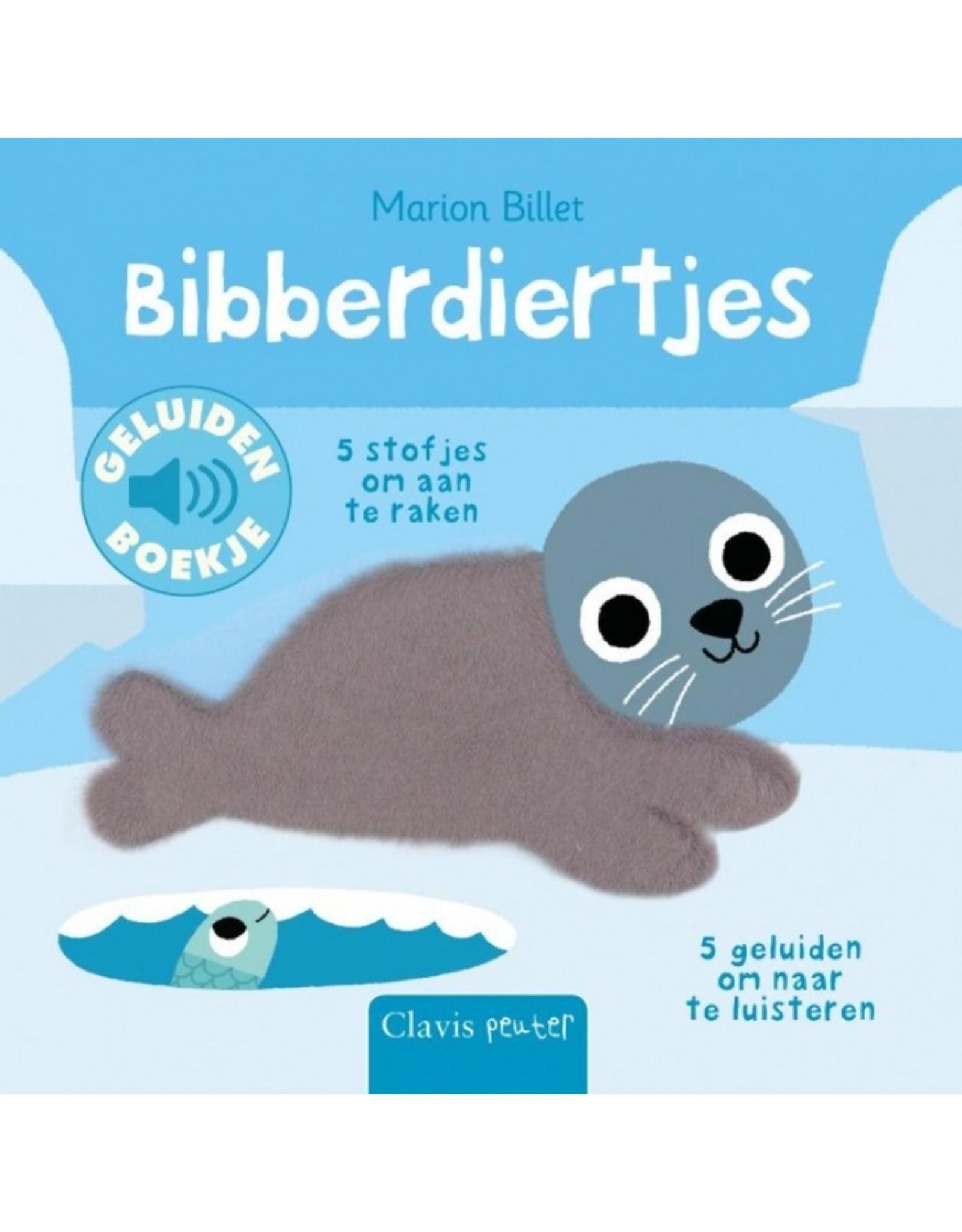 Boek - Bibberdiertjes (geluidenboek met voelplekken)