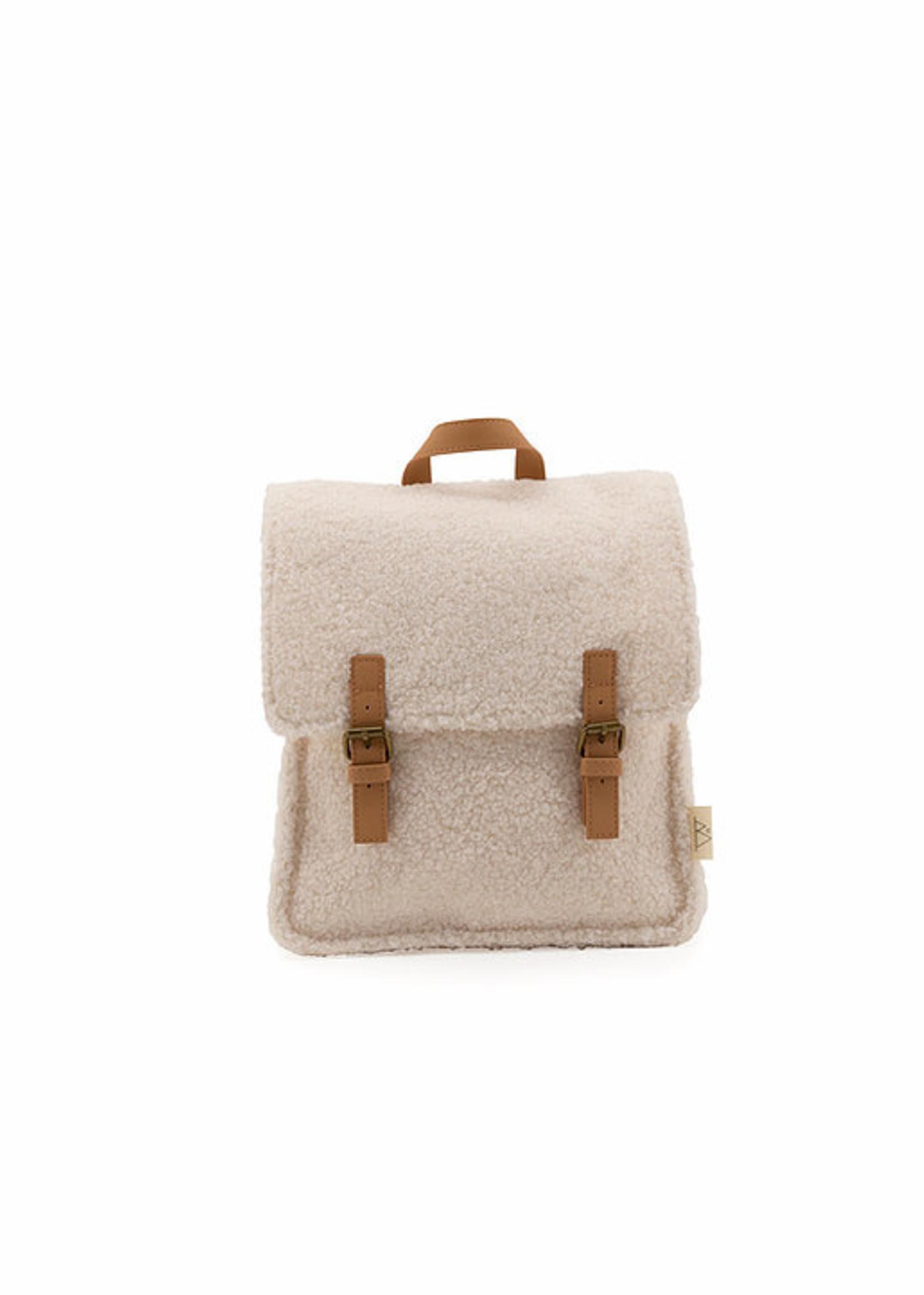 Nanami - Teddy Backpack Off-white