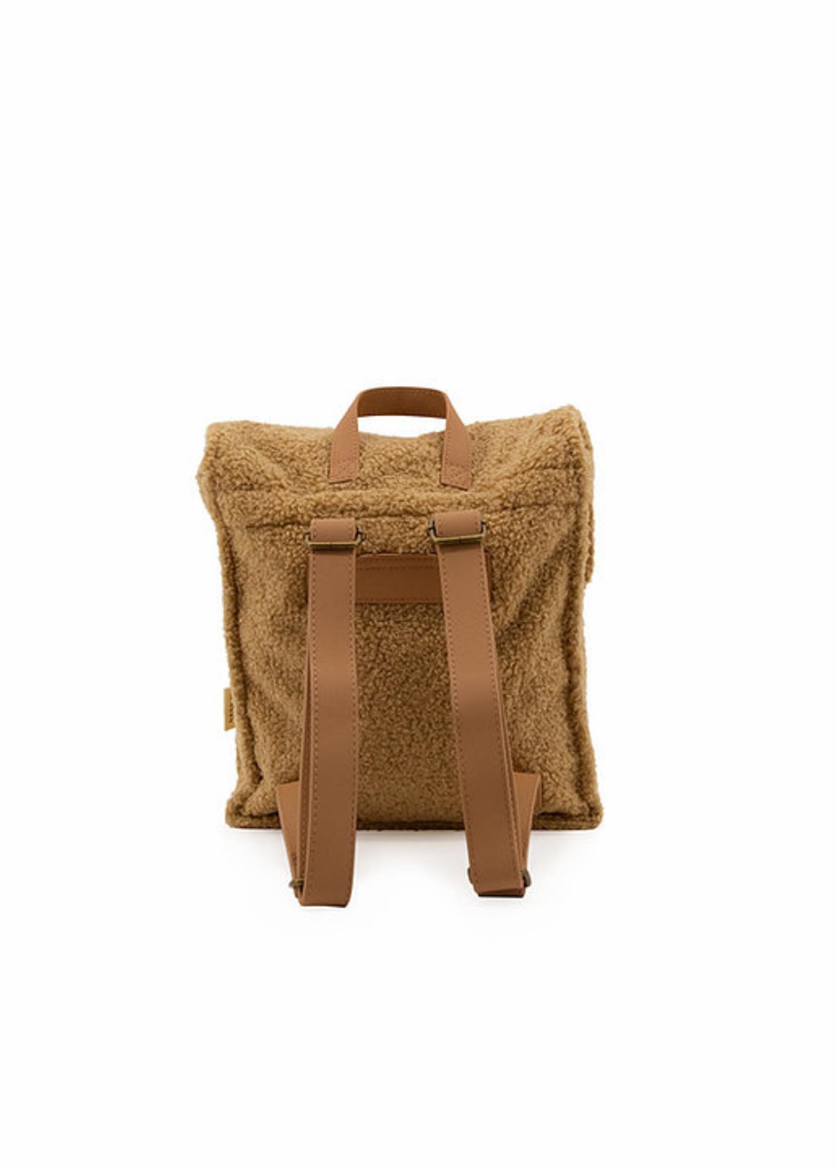 Nanami Nanami - Teddy Backpack Sand