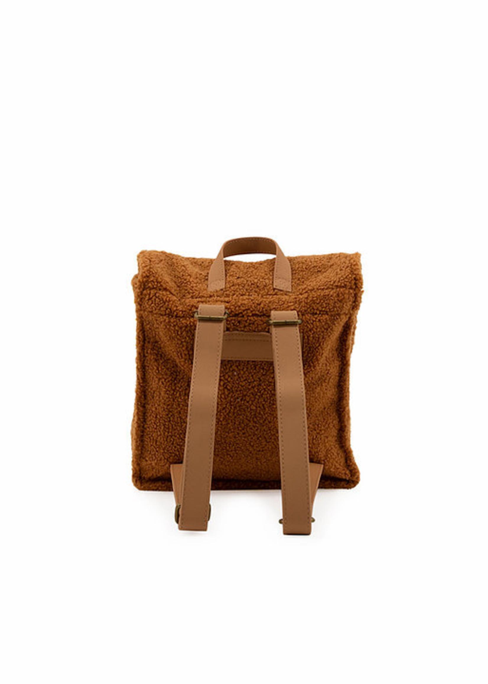 Nanami Nanami - Teddy Backpack Caramel