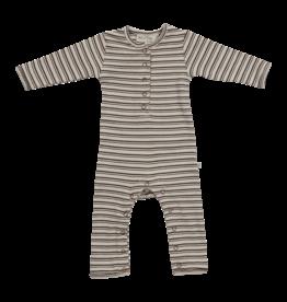 Blossom Kids BK-  Playsuit Cinnamon Stripes - soft rib