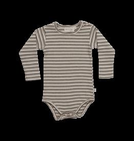 Blossom Kids BK - Body long sleeve - Stripes - Cinnamon