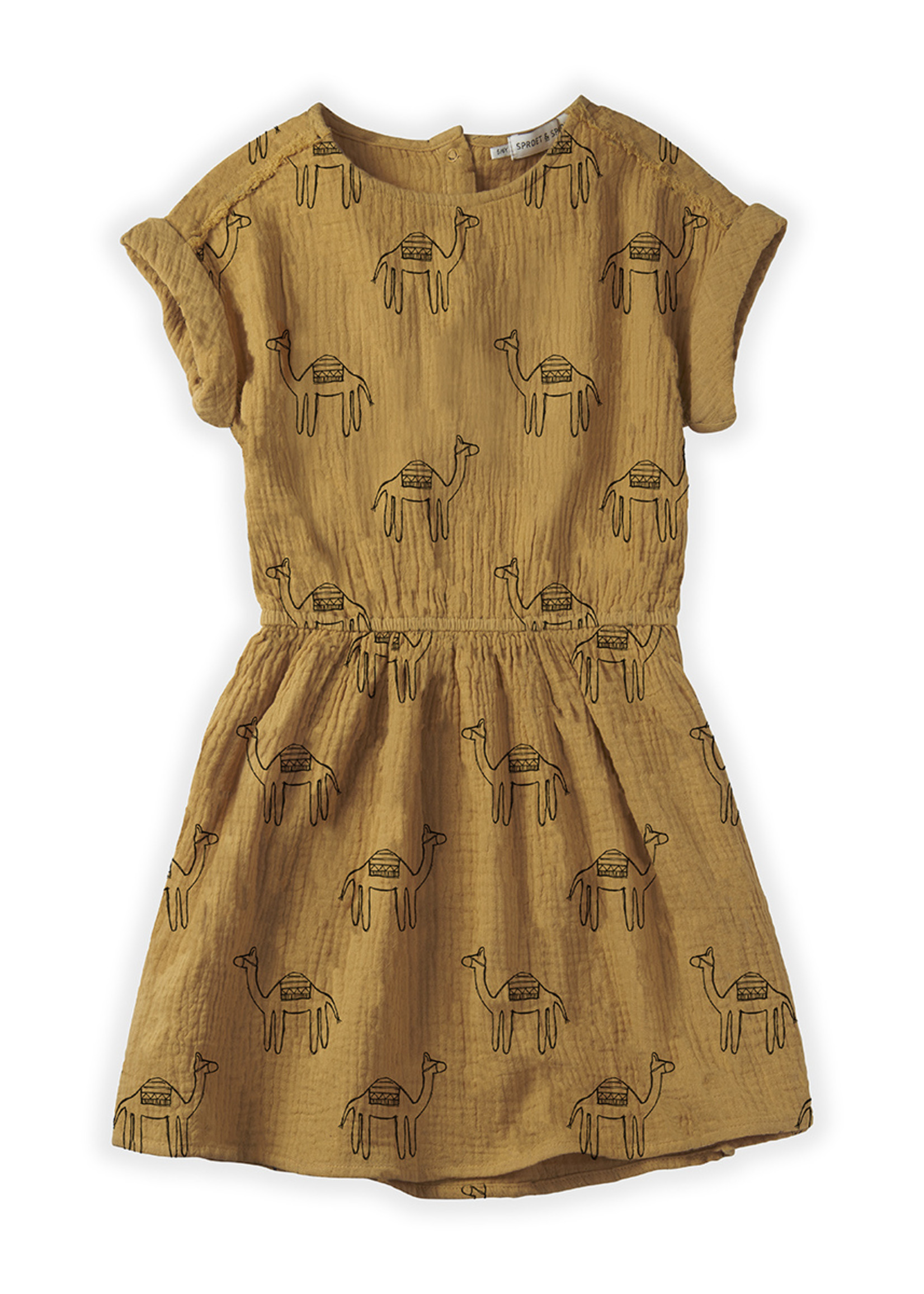 Sproet & Sprout SS - Dress Camel Print