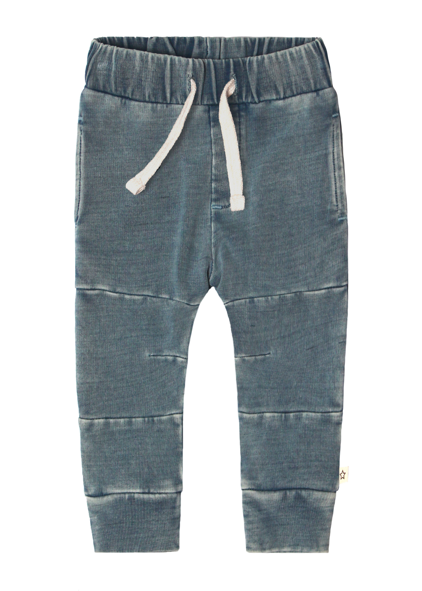 Your Wishes YW - Knitted Denim   Seam Jogging