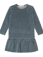 Your Wishes YW - Knitted Denim | LS Shift Dress