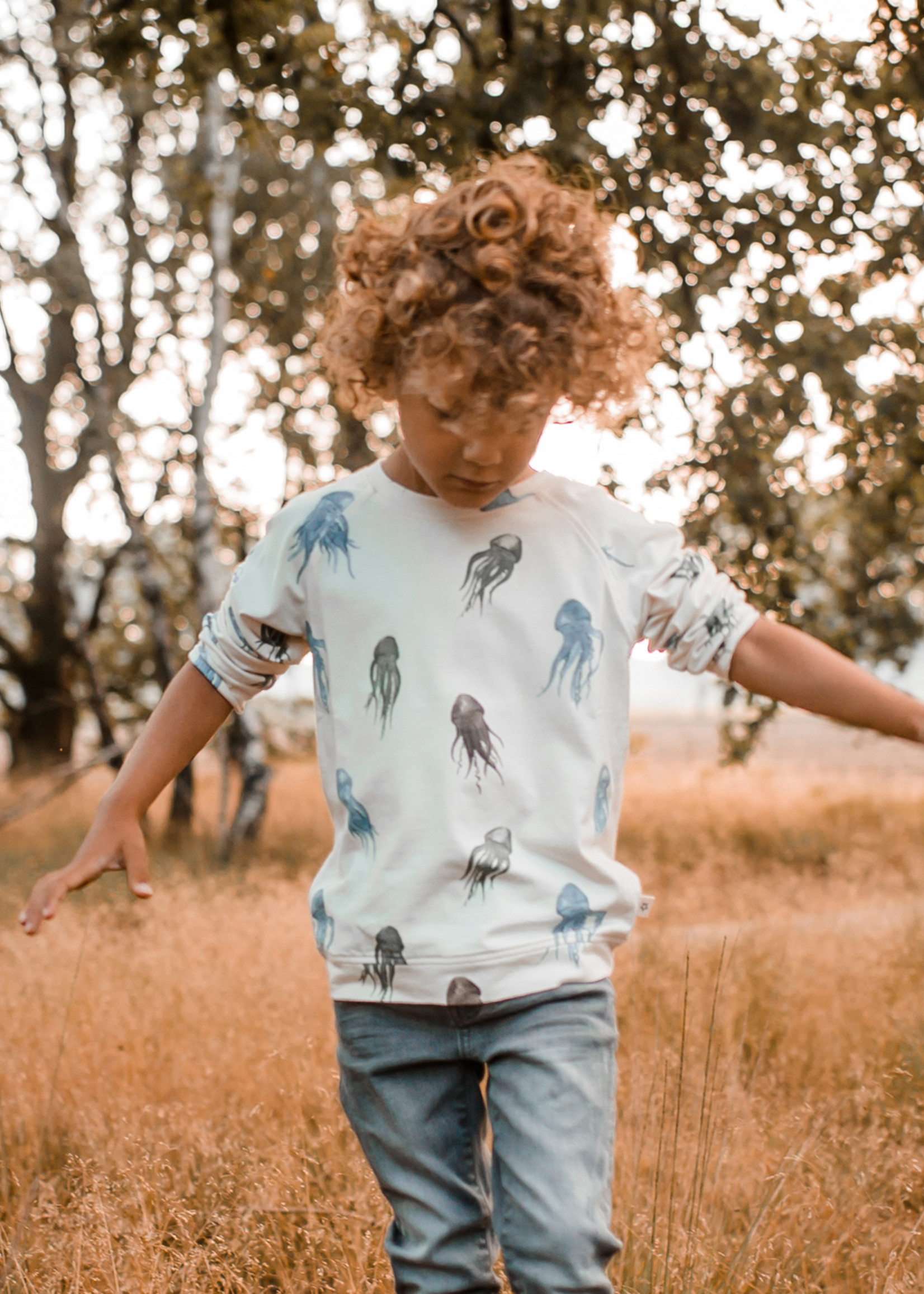 Your Wishes YW - Jellyfish   Loose Tee