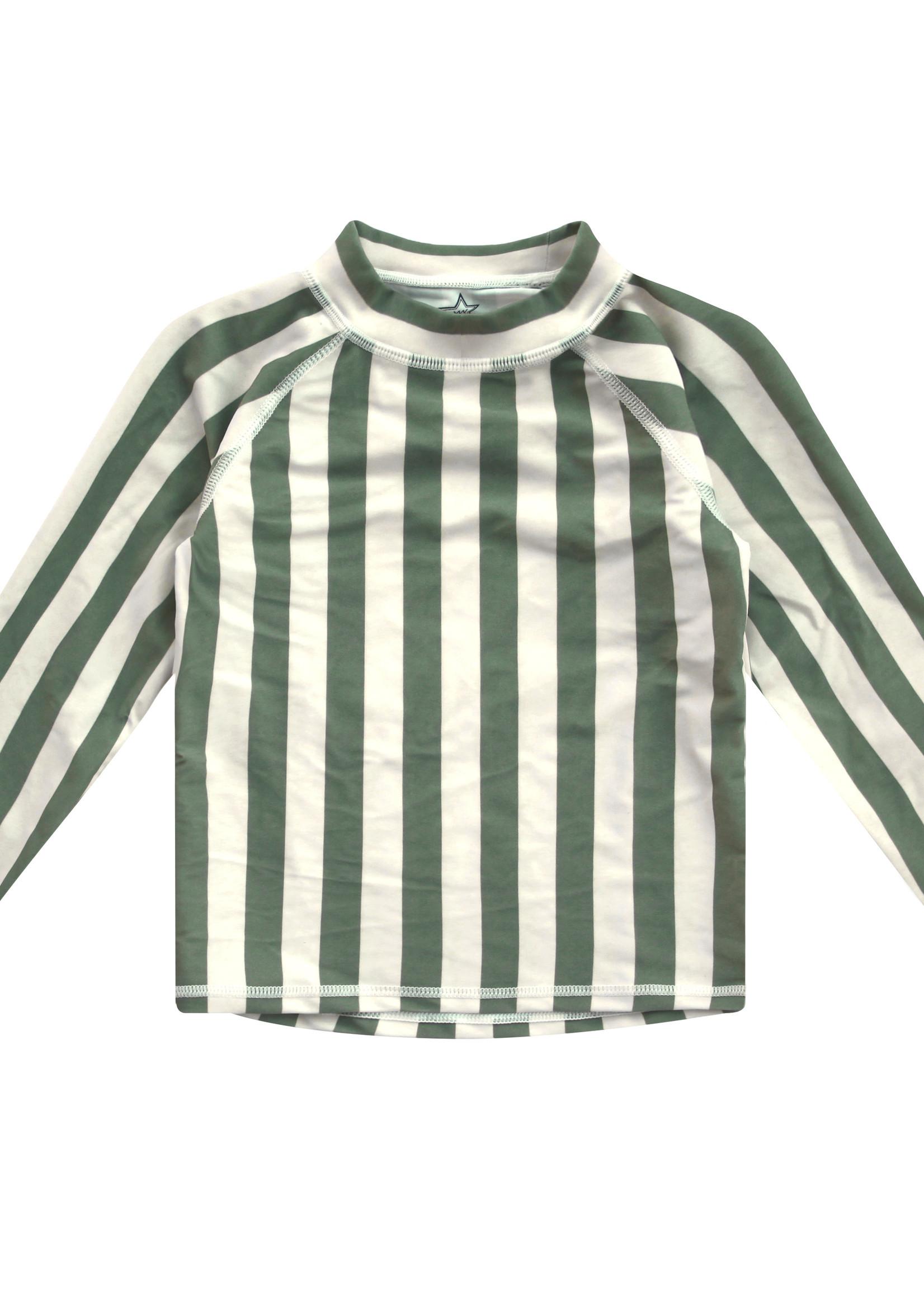 Your Wishes YW - Bold Stripes | Swim Tee LS