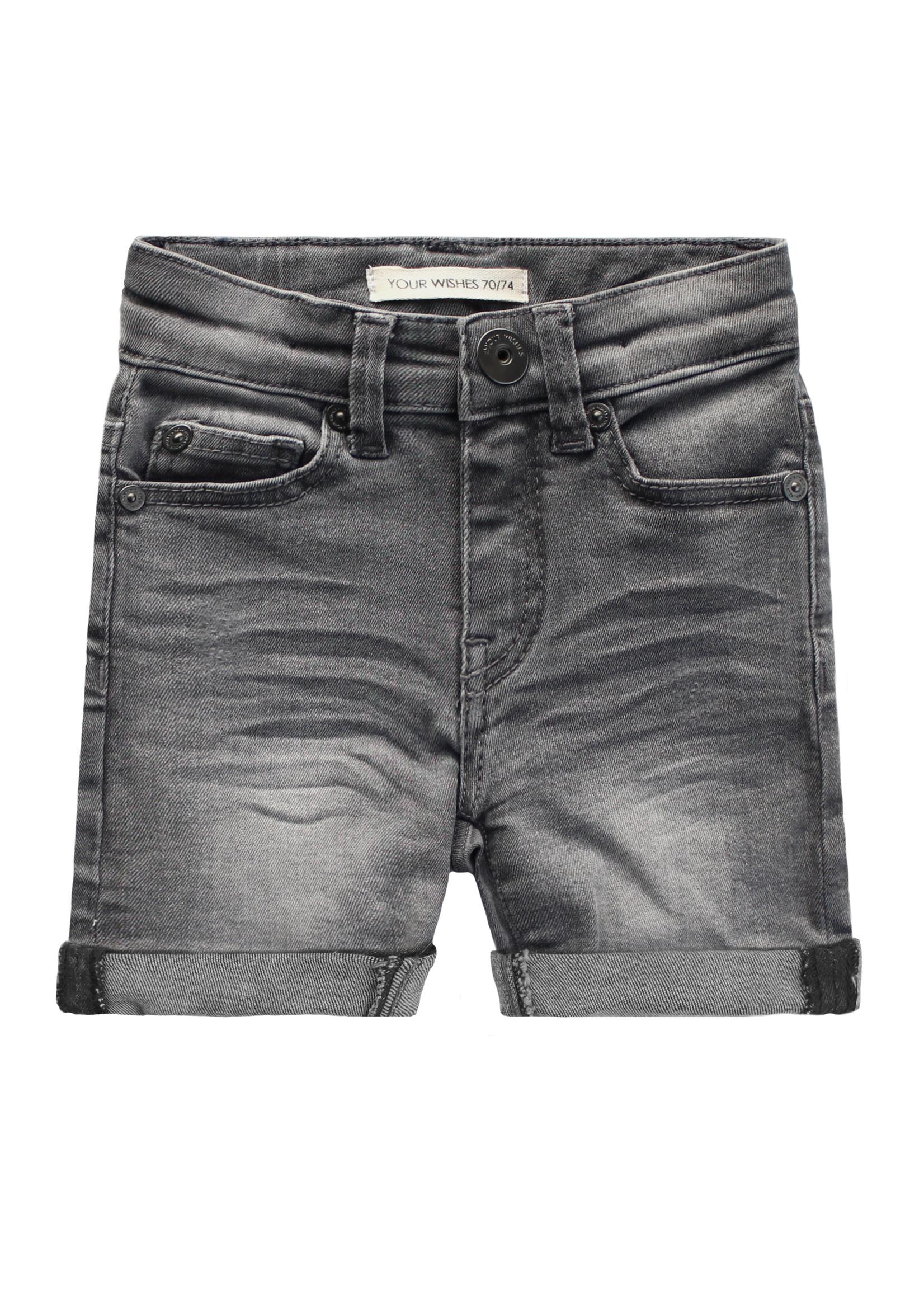 Your Wishes YW - Denim   Shorts Denim Grey