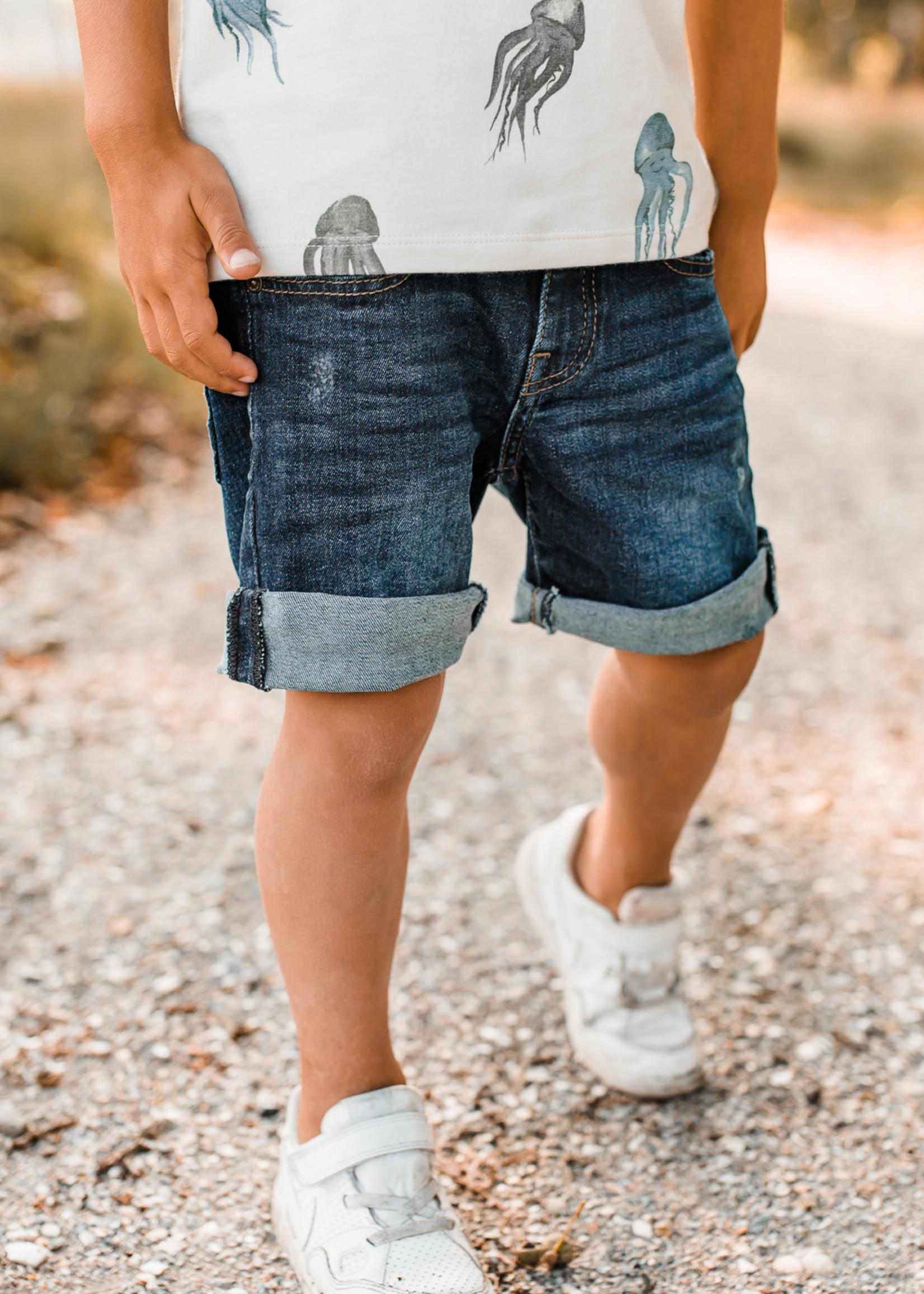 Your Wishes YW - Denim   Shorts Denim Medium Blue