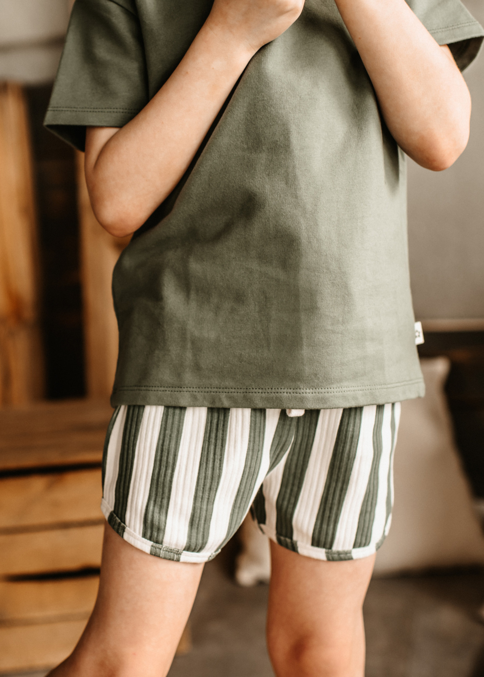 Your Wishes YW - Bold Stripes   Shorts