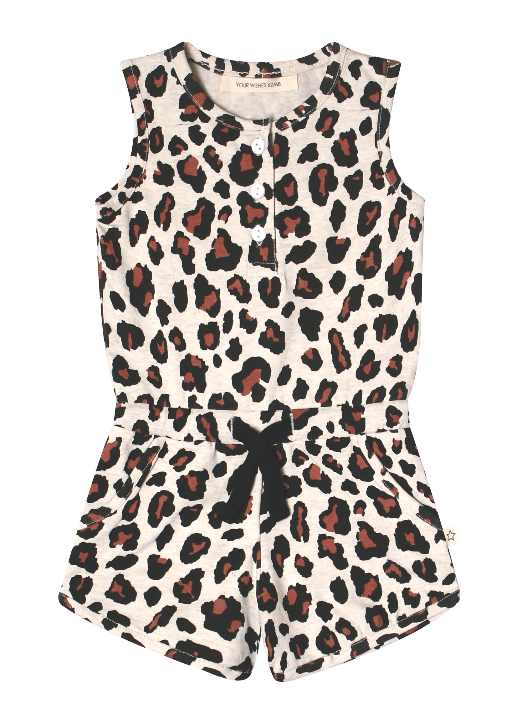 Your Wishes YW - Leopard | Racerback Jumpsuit
