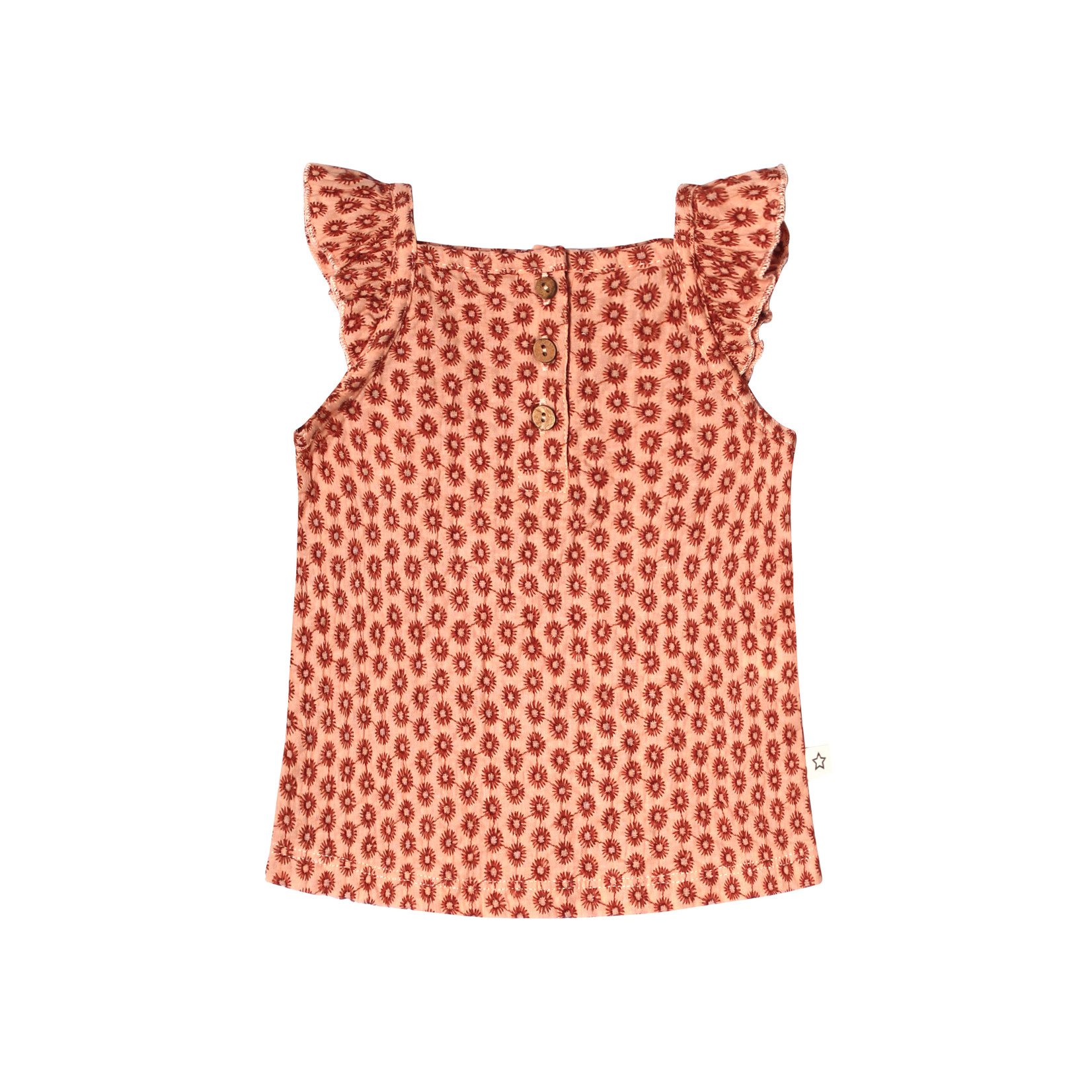Your Wishes YW - Broderie Terra   Ruffle Singlet