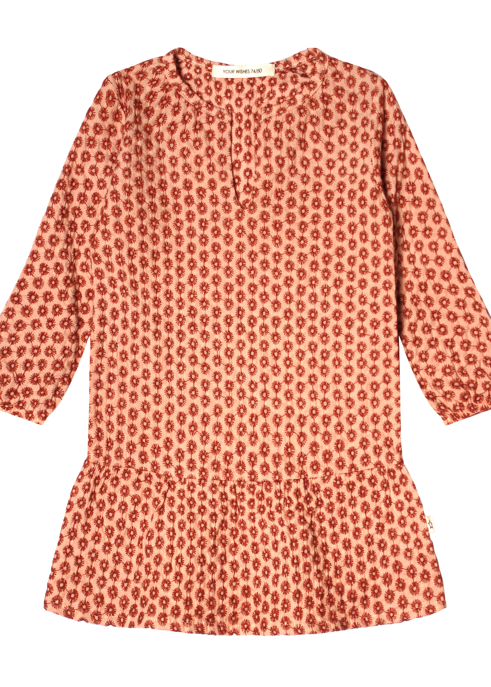 Your Wishes YW - Broderie Terra   Tunic Dress