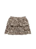 Little Indians LI - Skirt Zebra Fondue Fudge