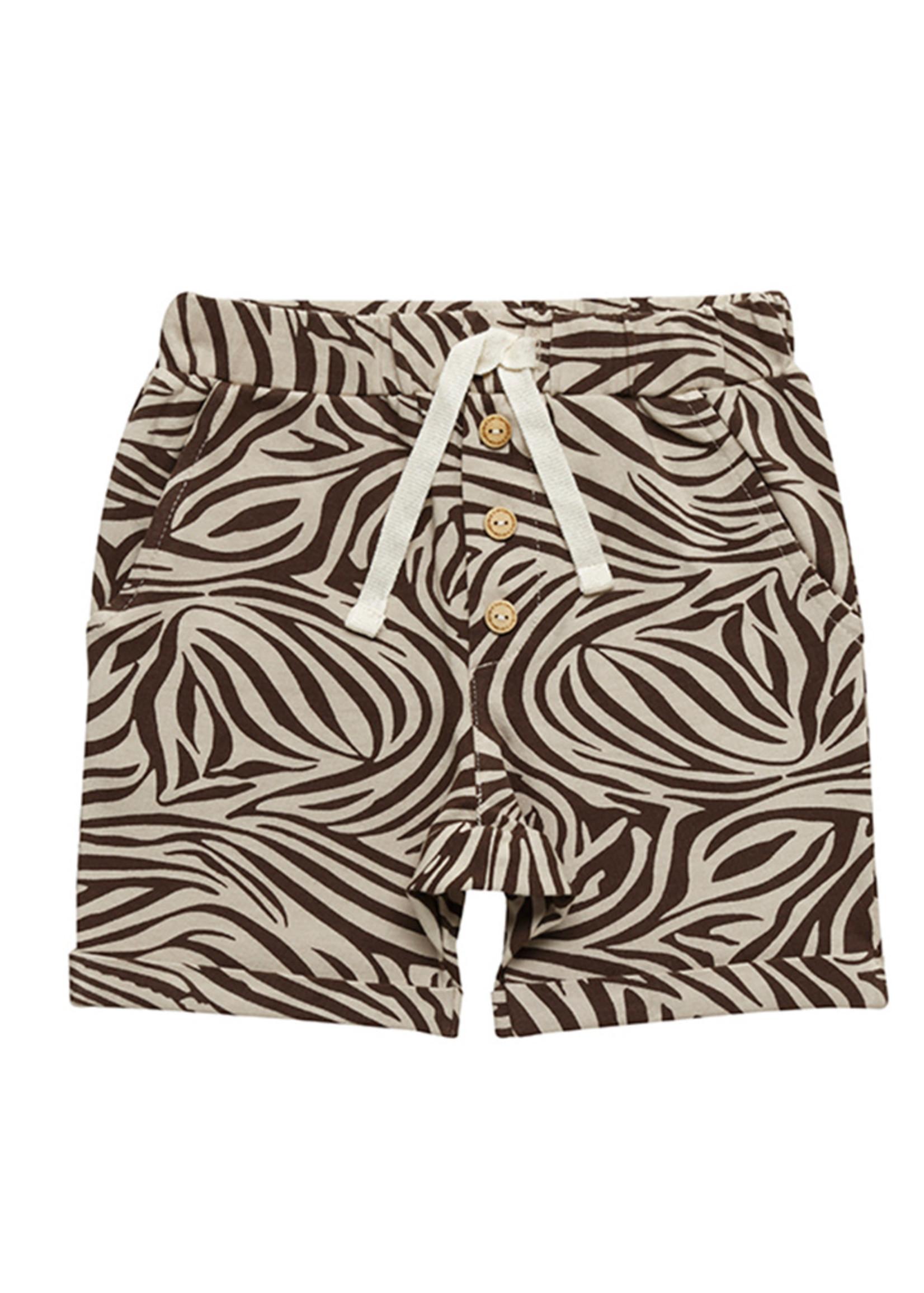 Little Indians LI - Short Zebra Fondue Fudge