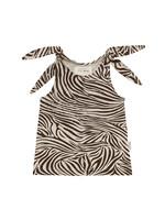 Little Indians LI - Tanktop Zebra Fondue Fudge