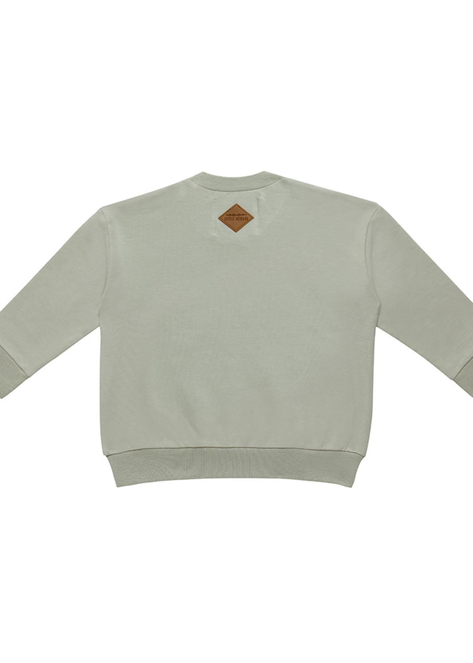 Little Indians LI - Boxy Sweater Hotel Motel Abbey Stone