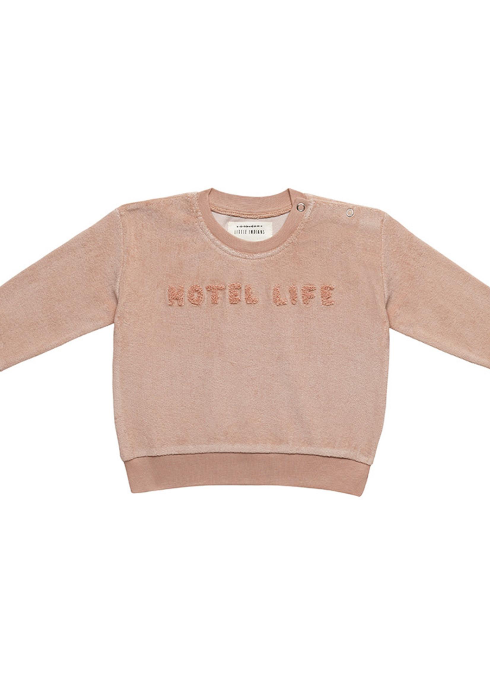 Little Indians LI - Boxy Towel Sweater Hotel LifeTuscany