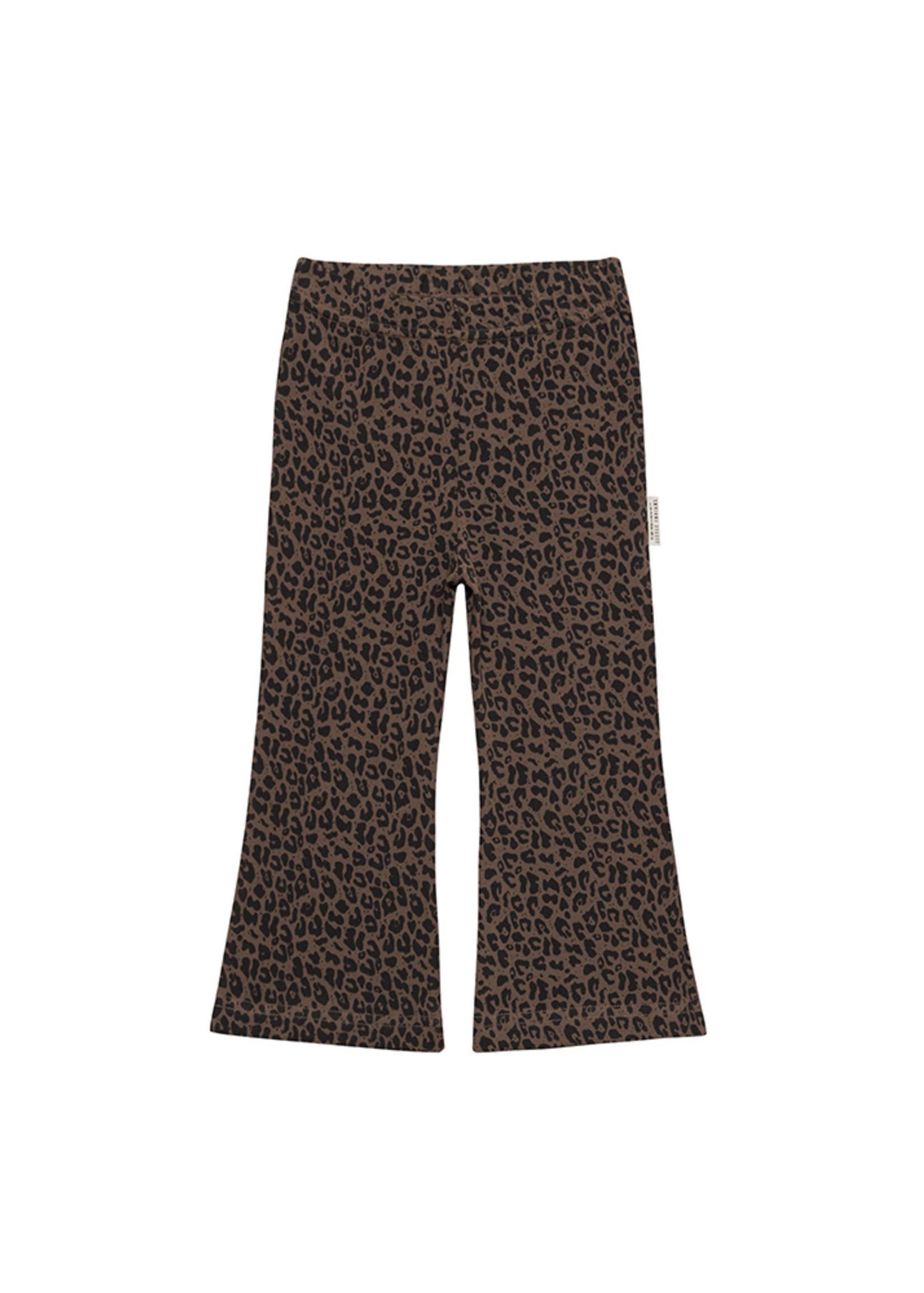 Little Indians LI - Flared Pants - Leopard - Fondue Fudge