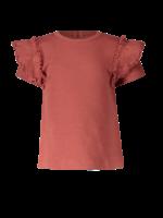 Pexi Lexi PL - Shirt Ruffle - Marsala