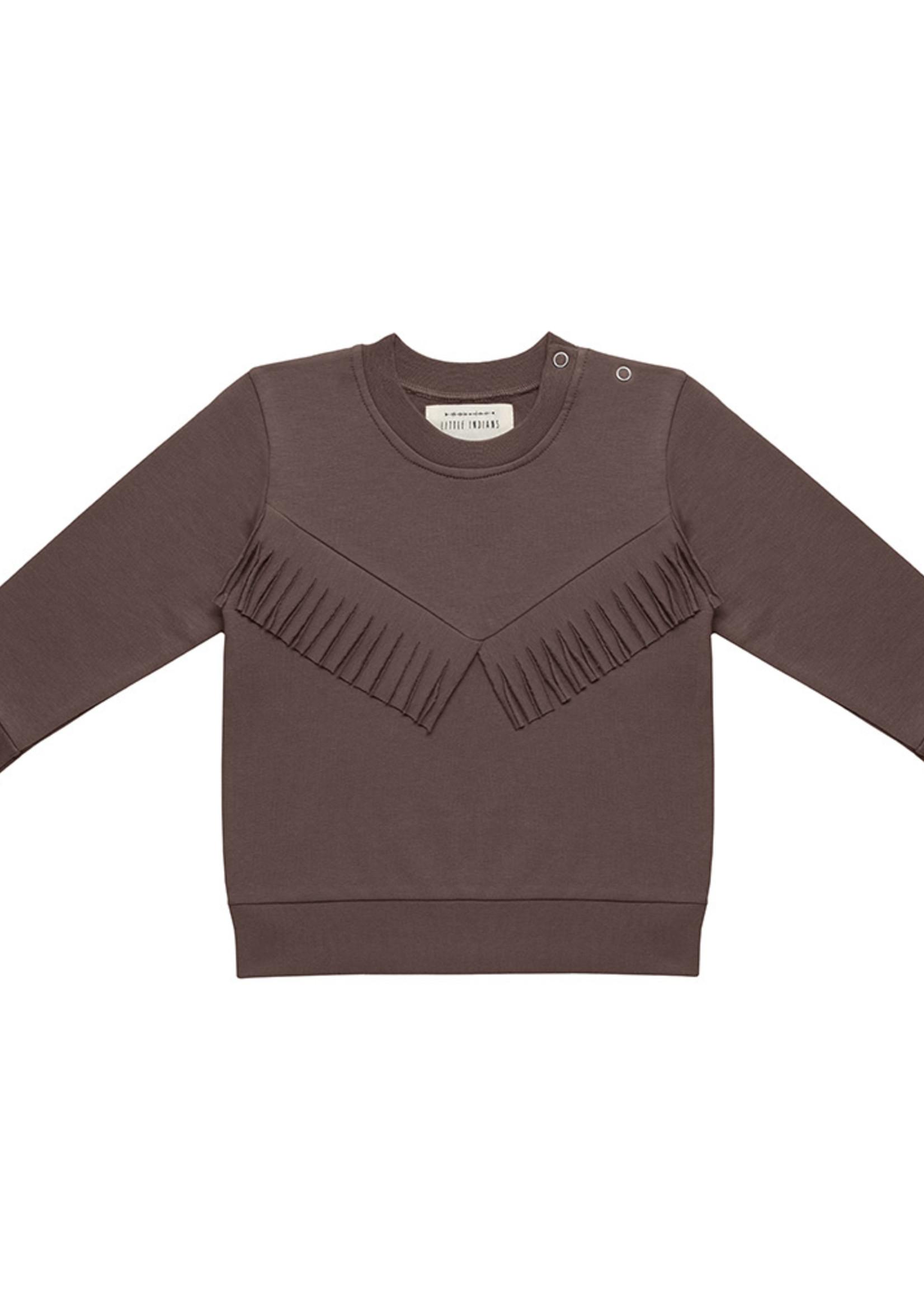 Little Indians LI - Boho Sweater - Fondue Fudge