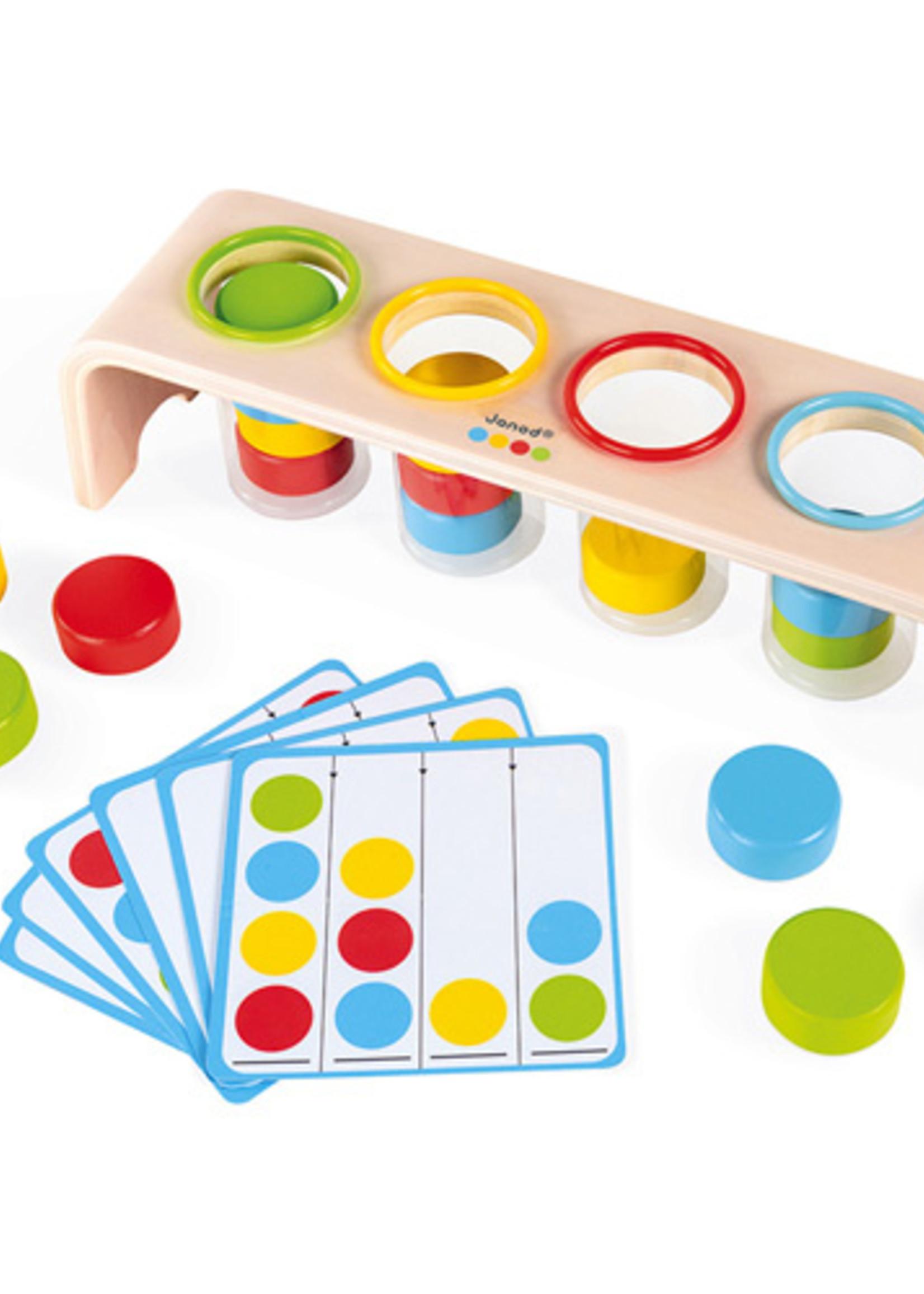 Janod Janod Essential - Kleuren sorteren