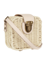 Mimi and Lula M&L - Mini wicker Basket Cross Body Bag