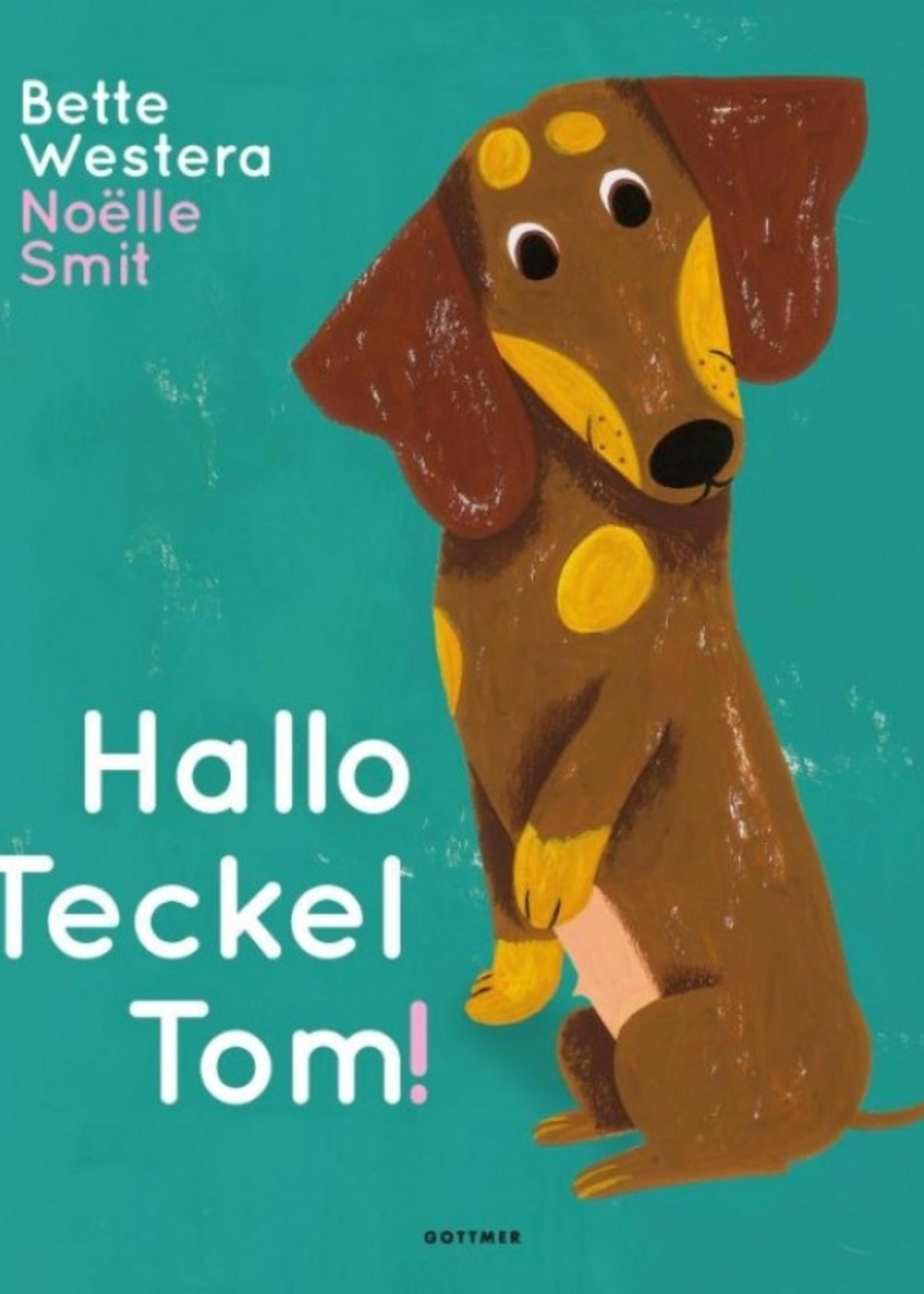 Boek -Hallo Teckel Tom!