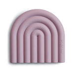 Mushie Mushie - Teether - Rainbow Mauve