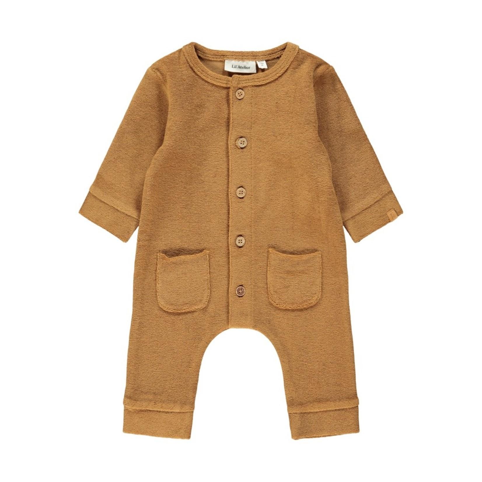 Lil Atelier Lil Atelier - Evald LS Sweat Suit Tobacco Brown