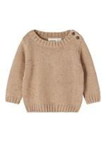 Lil Atelier Lil Atelier - Egalto LS Knit Tobacco Brown