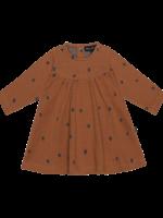 House of Jamie HOJ - Baby Doll Dress - Ginger Bread Dots