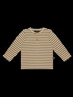 House of Jamie HOJ - Rib Long Sleeve Tee - Moss Stripes
