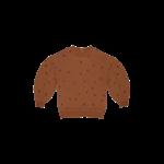 House of Jamie HOJ - Balloon Sweater - Ginger Bread Dots