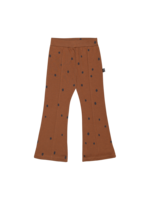 House of Jamie HOJ - Flared Pants - Ginger Bread Dots