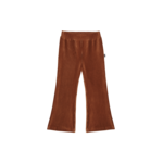 House of Jamie HOJ - Flared Pants - Ginger Bread Rib Velvet