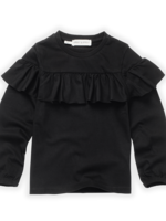 Sproet & Sprout S&S - T-Shirt Ruffle Black