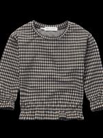 Sproet & Sprout S&S - Sweatshirt Ruffle Block Check