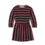 Sproet & Sprout S&S - Skater Dress Painted Stripe