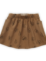 Sproet & Sprout S&S - Skirt Apple Print