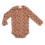 Petit Blush Petit Blush - Daisy Bodysuit - Brown Floral