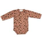Petit Blush Petit Blush - Kimono newborn - Brown Floral
