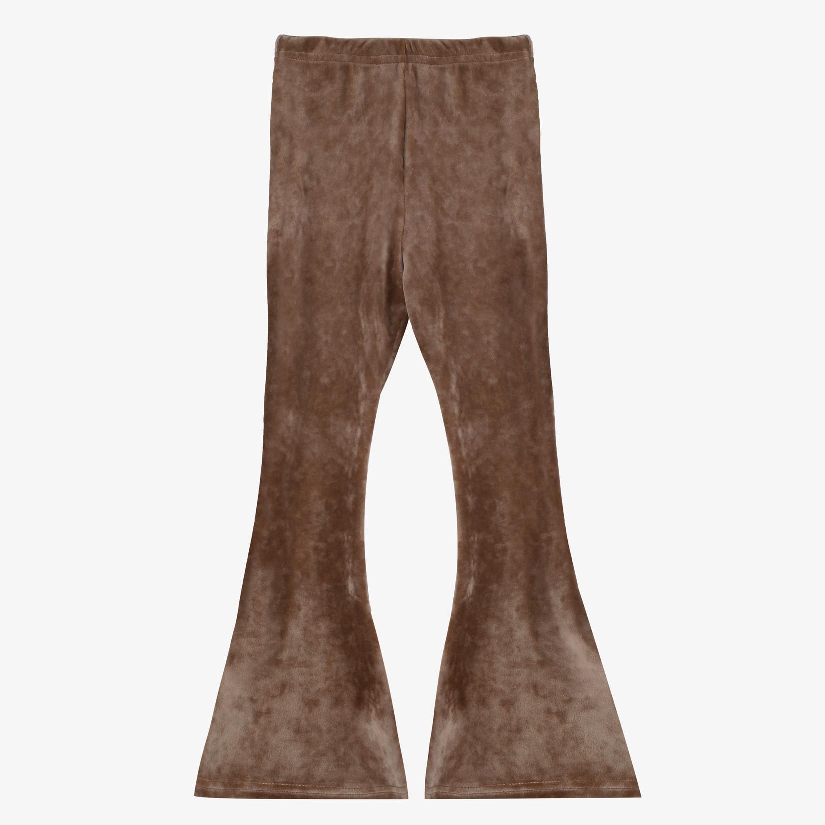Milk 'n Sugar Milk 'n Sugar - Flare Pants Velvet Brown