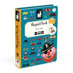 Janod Janod - Magneetboek - Gekke gezichten jongen